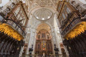 architecture bâtiment palais point de repère façade église cathédrale lieu de culte héritage du monde Espagne Mezquita Basilique dôme Cordoue architecture gothique Architecture byzantine