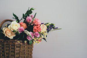 Panier, Bloom, Fleur, Bouquet, Décoration, Flore